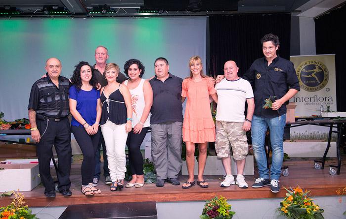 Participantes Master Florist 2013