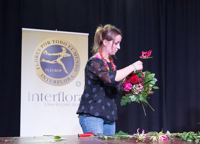 demostracion floral interflora