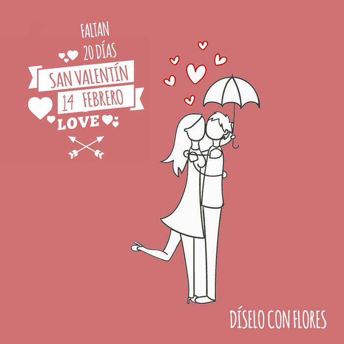 Se acerca el día del amor. San Valentín