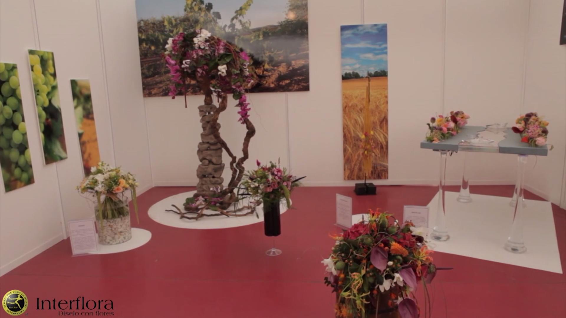 Video completo de la Copa de España Interflora de Arte Floral 2014