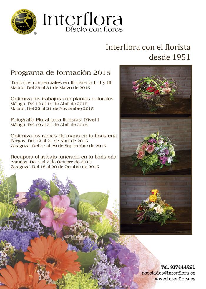 Formación floral para profesionales floristas