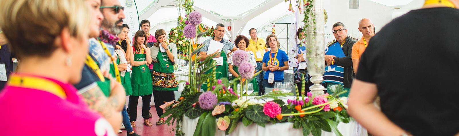 MAF. Mejor Artesano Florista 2015. Ampliación