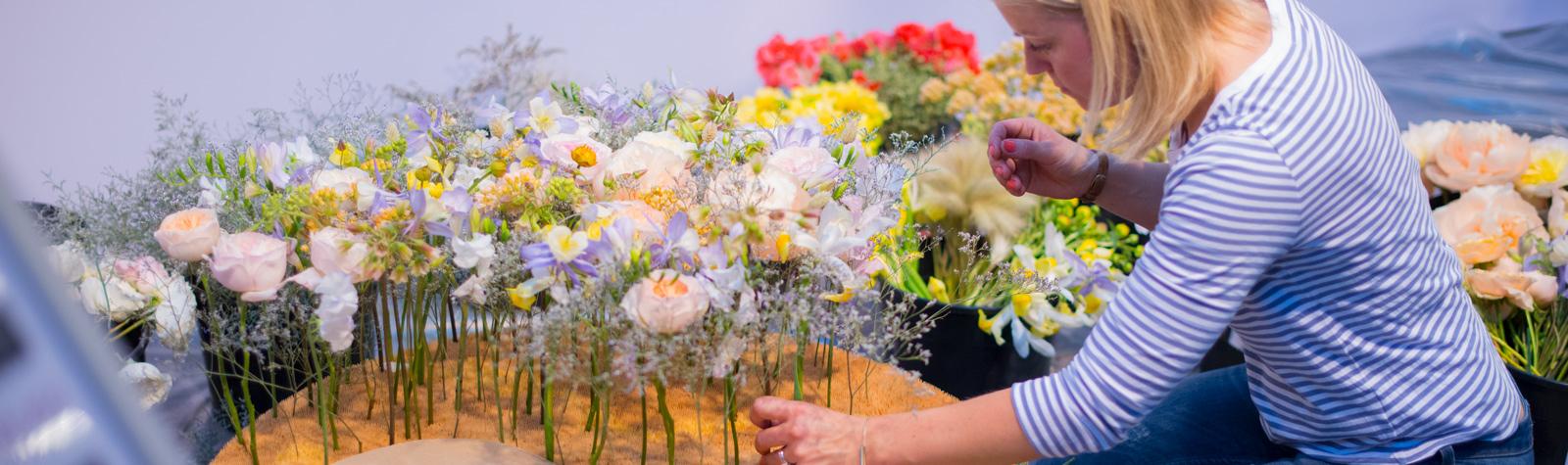 Copa del Mundo Interflora de Arte Floral. Berlin 2015