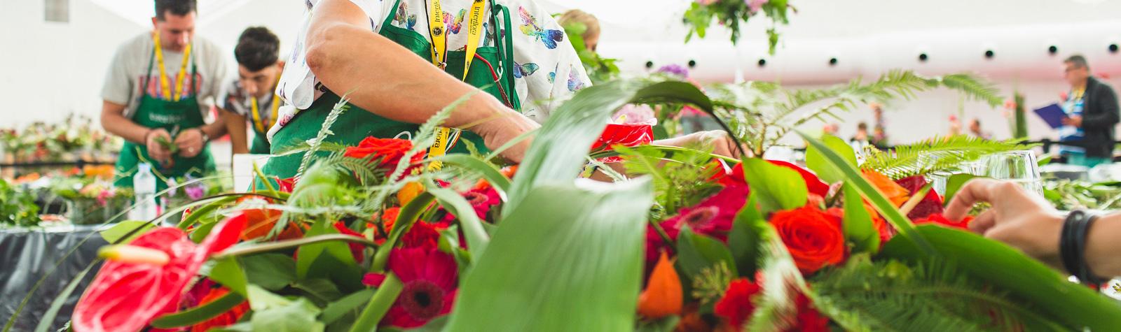 Video del Día 1 en el MAF 2015. Mejor Artesano Florista 2015