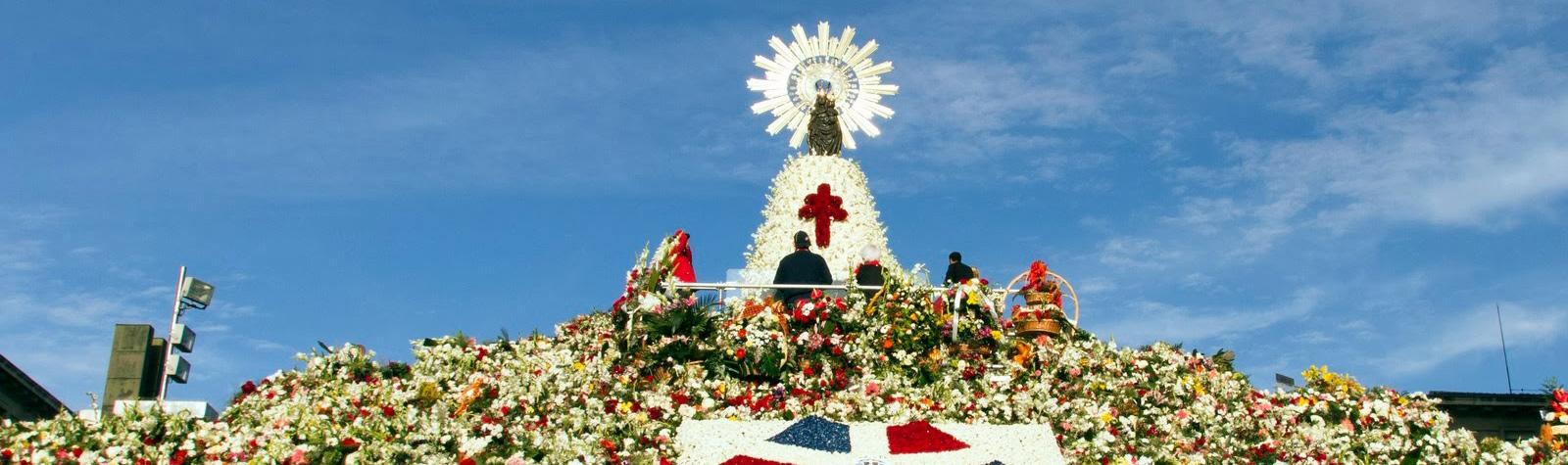 Tradición y Flores para el Día del Pilar