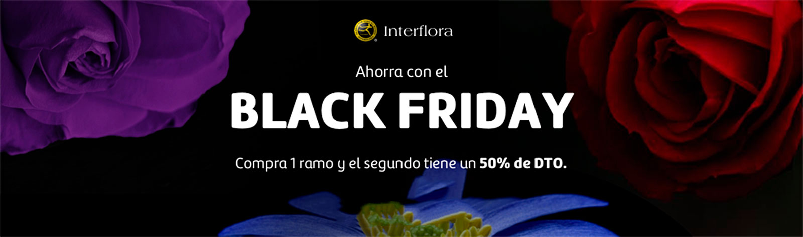 Flores para el black friday