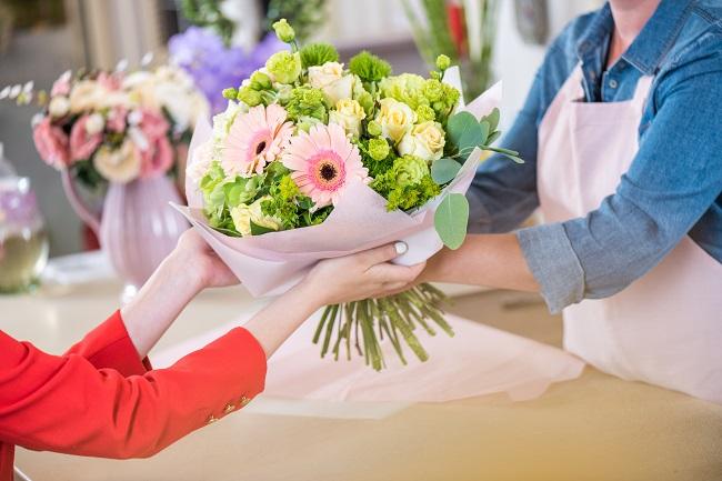 Ramo de flores regalo día del Carmen