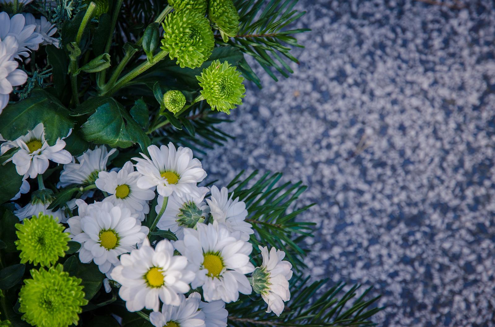 5 ramos de flores para el Día de los Santos