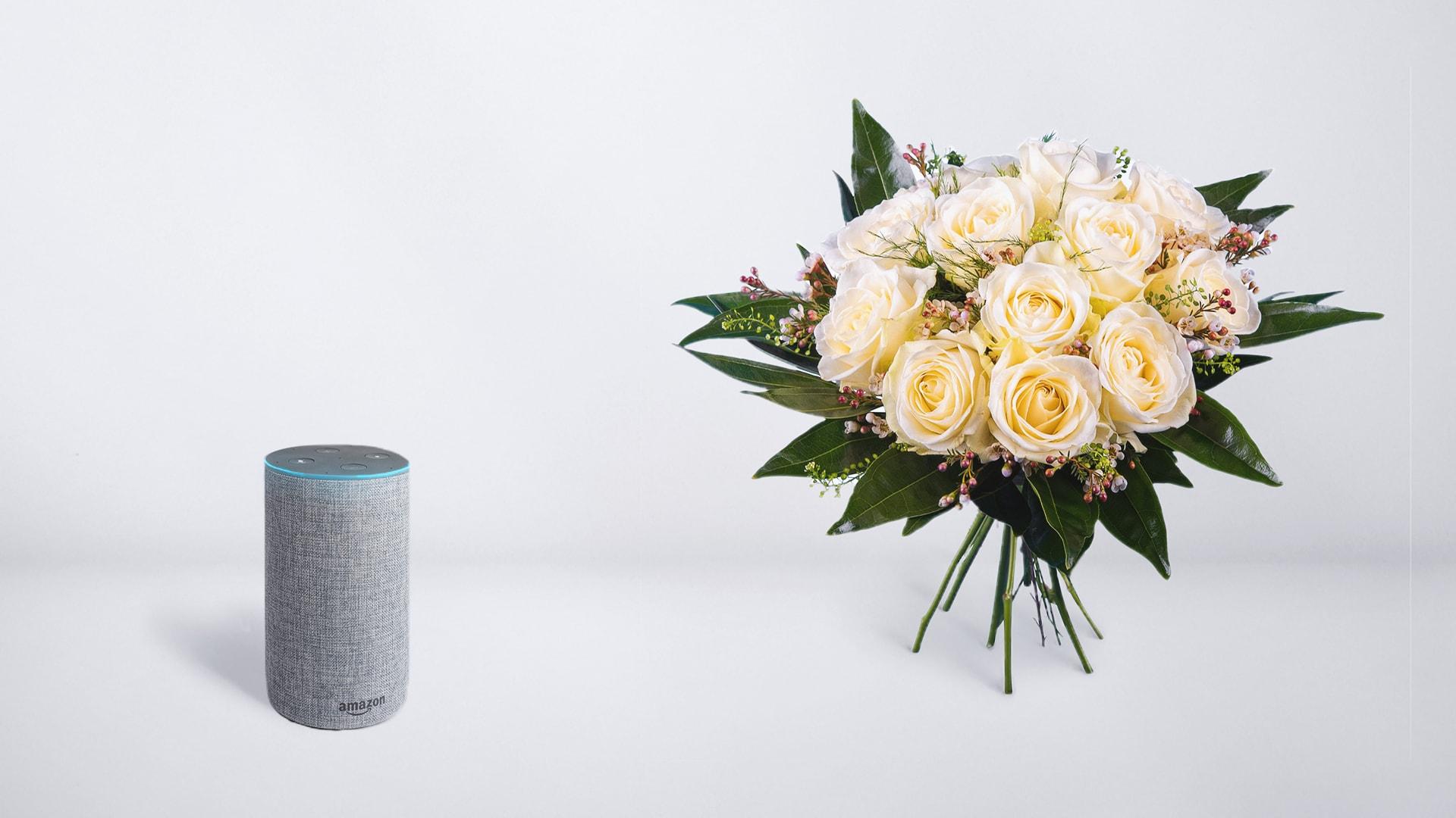 Interflora lanza una skill de Alexa pionera en España