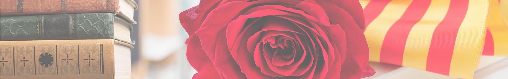 14 libros para regalar junto a tu rosa el Día de Sant Jordi