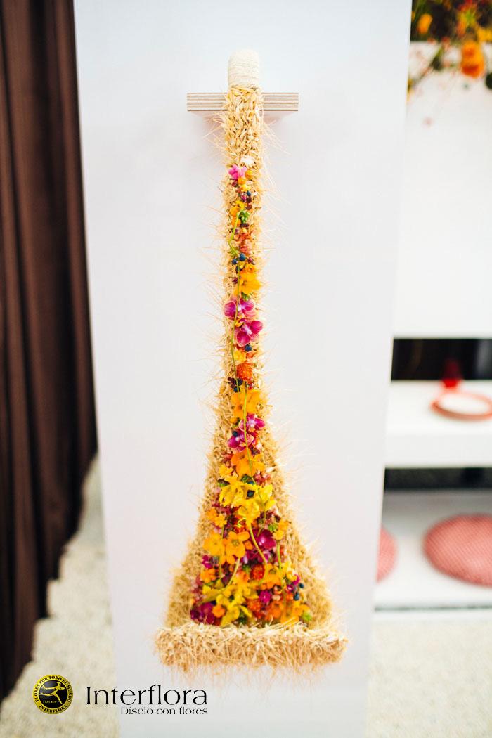 Ramo de novia alto diseño