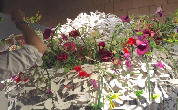 copa de arte floral